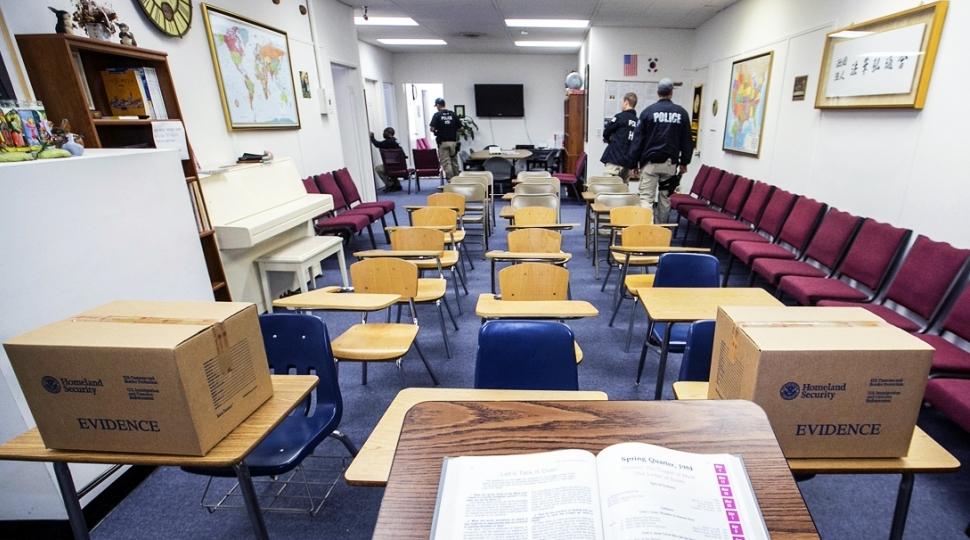 Американские спецслужбы создали фейковый университет для разоблачения нелегальных иммиграционных схем