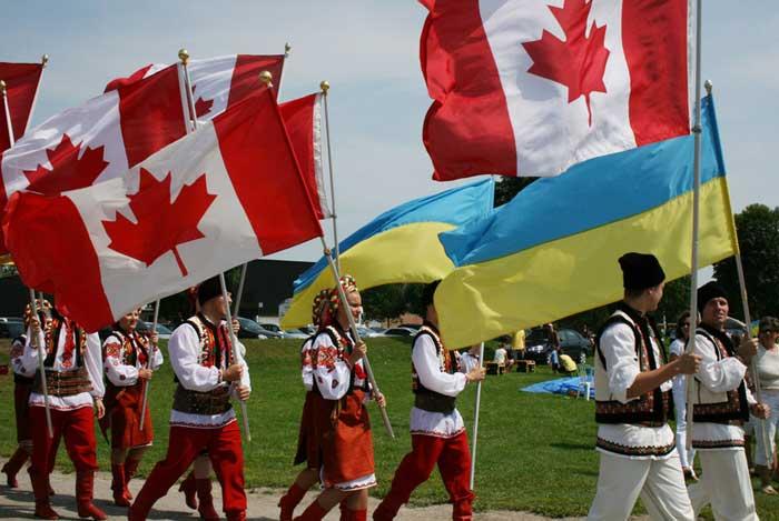 Безвизовый режим между Канадой и Украиной
