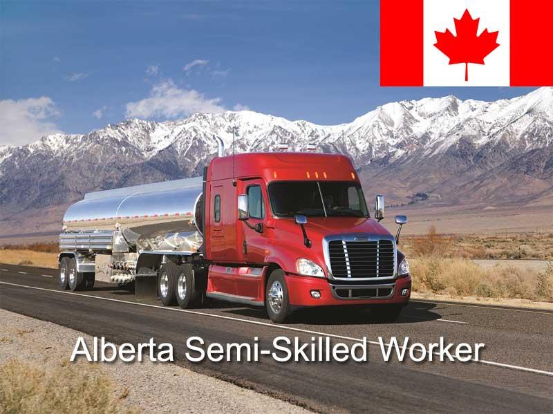 Иммиграция в Канаду по программе провинции Альберта Semi-Skilled Worker Category