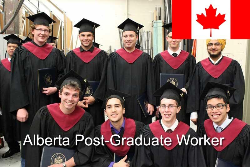 Иммиграция в Канаду по программе провинции Альберта Post-Graduate Worker Category