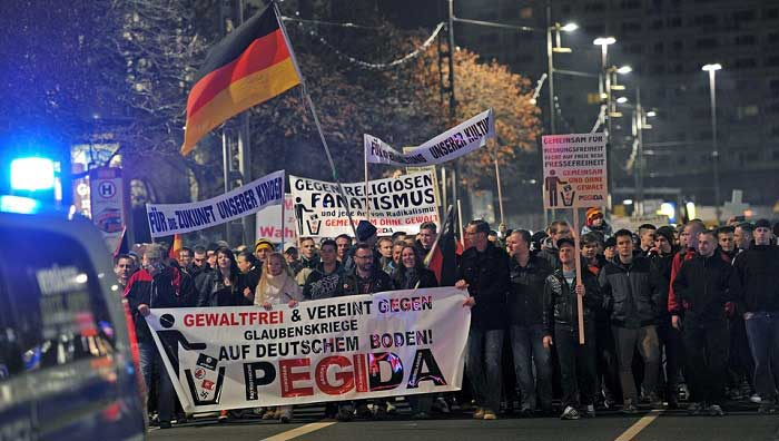 В Германии участились преступления на почве ненависти к беженцам
