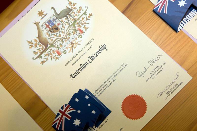 Австралия хочет ужесточить тест на получение гражданства