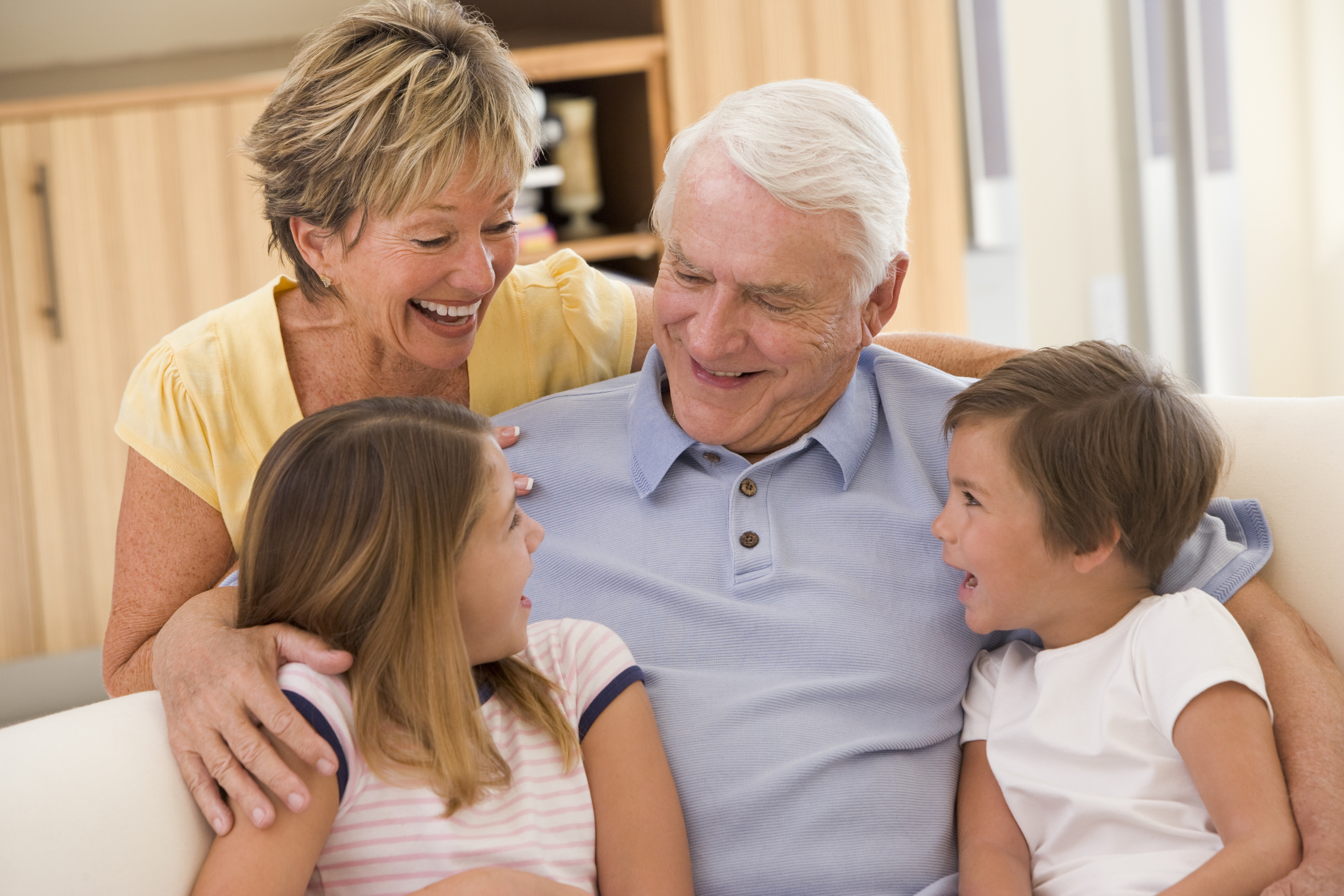 Картинки бабушка дедушка внук, открытки новым годом