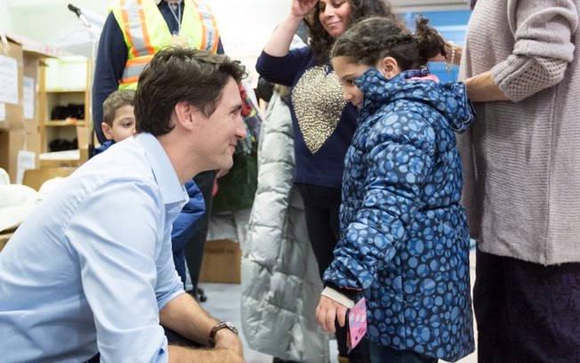 Джастин Трюдо приглашает беженцев в Канаду