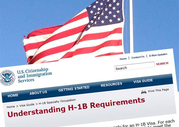 В США с 3 апреля 2017 г. начнется прием заявок на визу H-1B