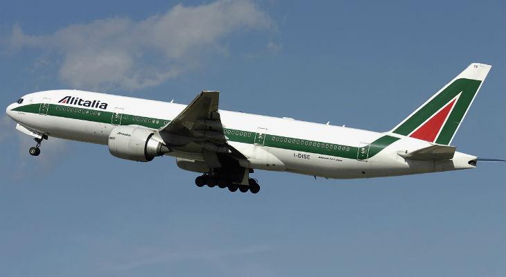 Alitalia возобновила регулярное авиасообщение Рим-Киев-Рим