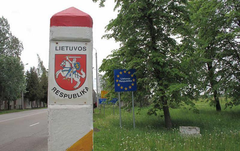 Литва строит заграждение на границе с Россией