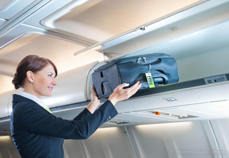 Пассажиры Wizz Air смогут бесплатно перевозить в салоне самолета большую ручную кладь