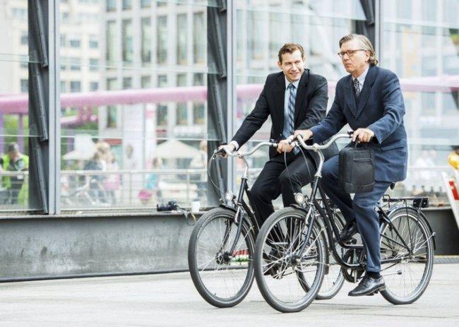 В Дании предлагают ввести велосипедистам налоговые льготы на поездки на работу