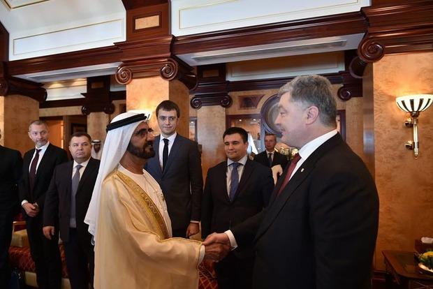 Украина и ОАЭ договорились о безвизовом режиме