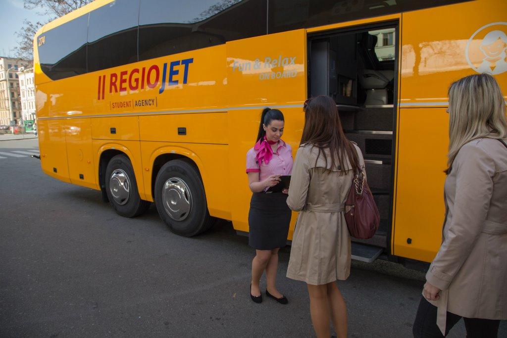 Чешский перевозчик RegioJet запускает маршрут из Украины через Словакию в Прагу