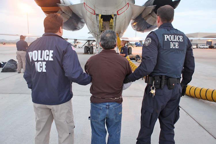 В США вероятность ареста нелегала зависит от региона его проживания