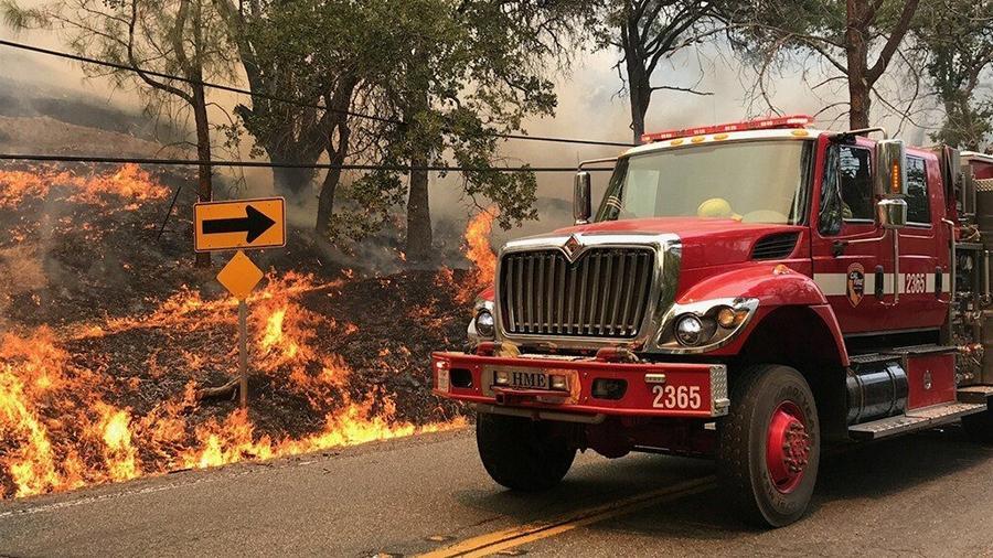 Иммиграционная служба США будет оказывать специальные услуги иностранцам, пострадавшим от пожаров в Калифорнии