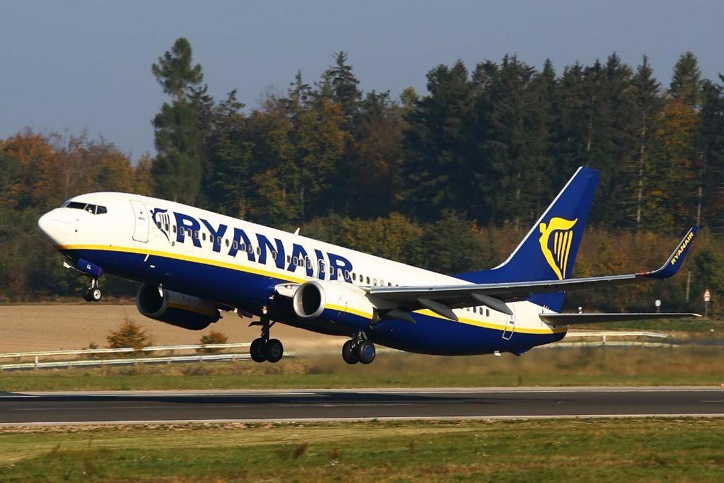 В ближайшие месяцы Ryanair будет осуществлять из Киева 38 рейсов в неделю в 7 стран ЕС