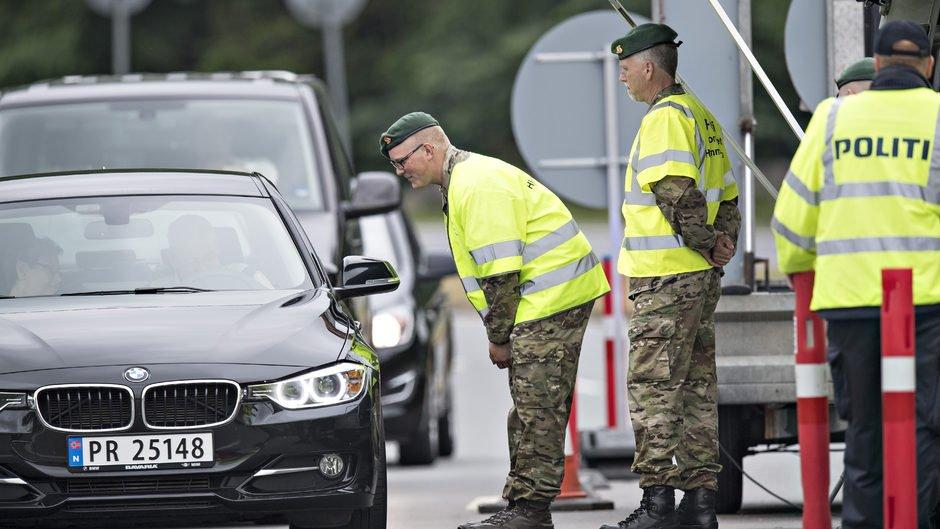 Дания продлила пограничный контроль с Германией еще на 6 месяцев