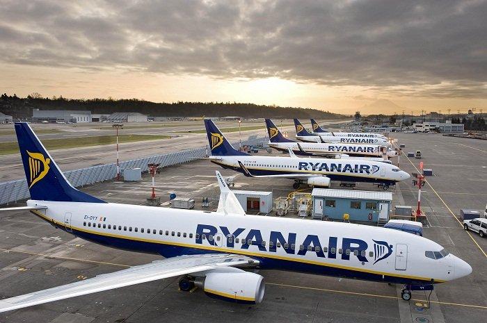 Ryanair откроет 5 новых маршрутов из Киева в 5 европейских городов