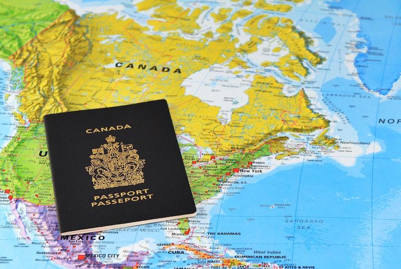 Канадский паспорт - третий самый влиятельный паспорт в мире