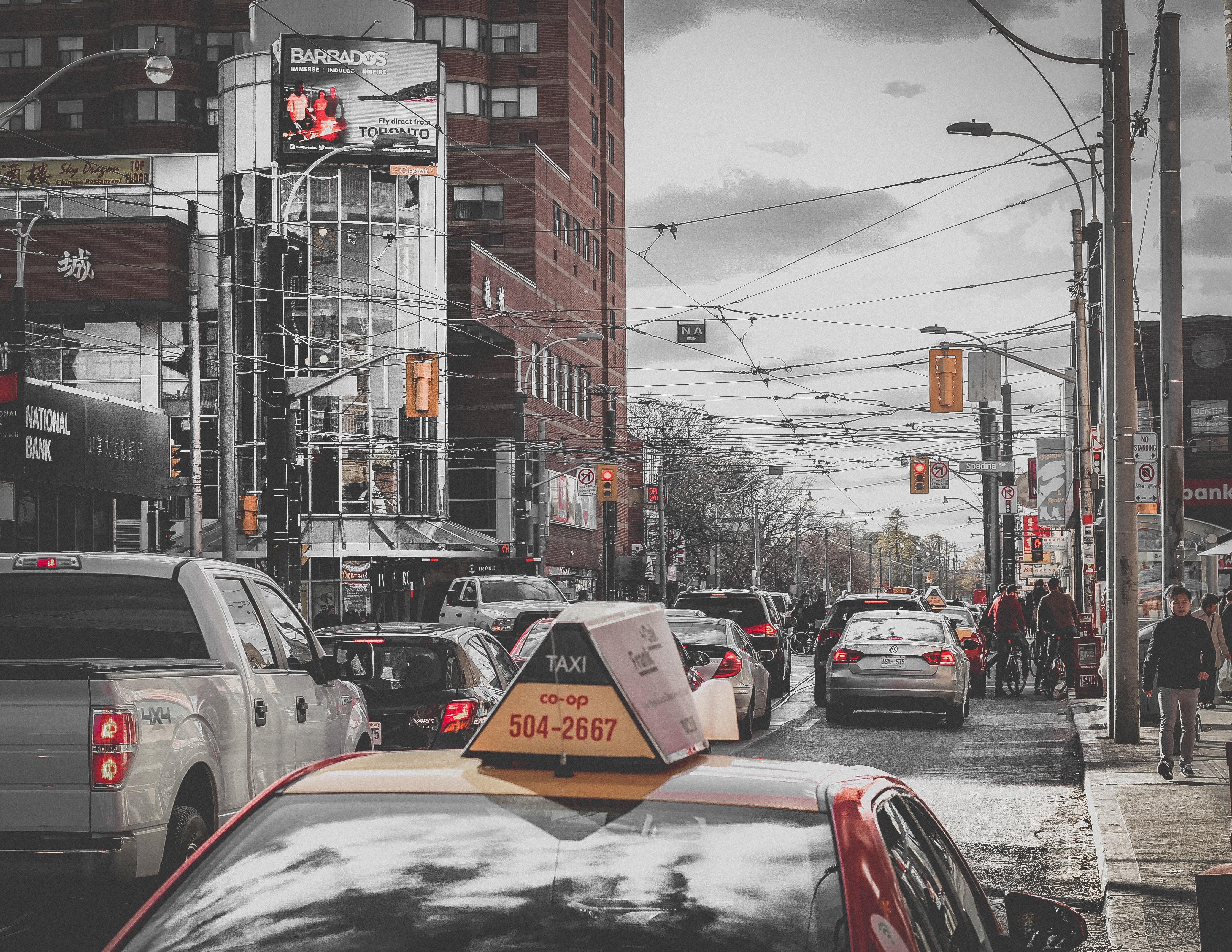 Где в Канаде самые ужасные пробки