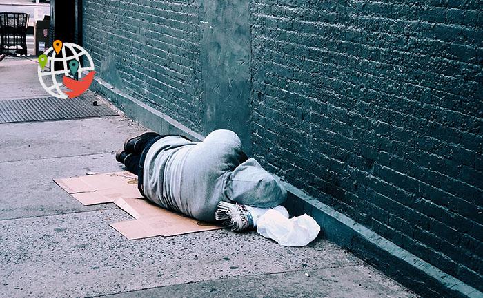 Большое число иммигрантов становятся бездомными в Канаде