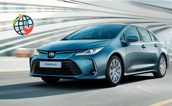 Цены на автомобили в России и Канаде на примере Toyota Corolla