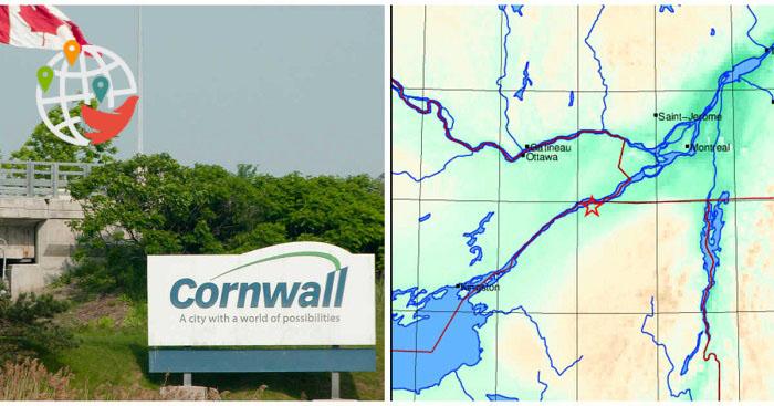 Волнительное начало недели: землетрясение на границе Онтарио и Квебека