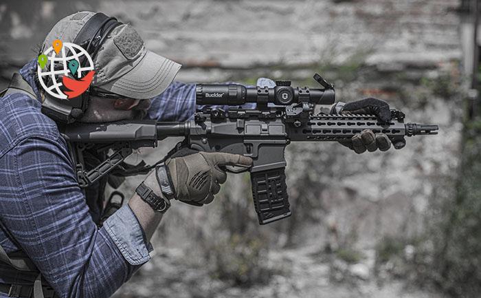 Канада официально запретит оружие «военного образца»