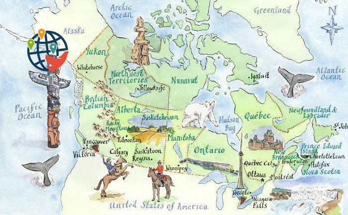 Как рассказать о каждой провинции Канады одним словом