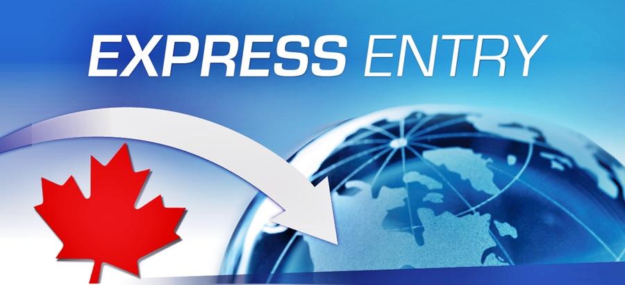 Новый отбор Express Entry: балл падает ниже отметки 450!