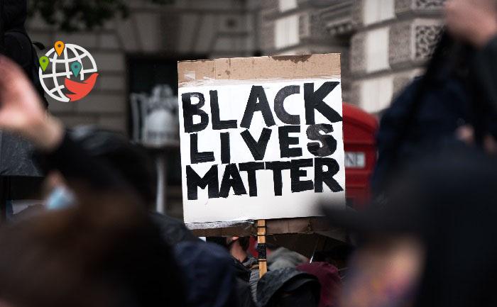Протест против расизма в Альберте перерос в насилие и разгром митингующих (ВИДЕО)