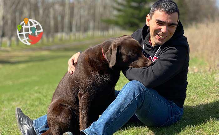 Животные в Канаде: как Алекс Павленко завел дома собаку