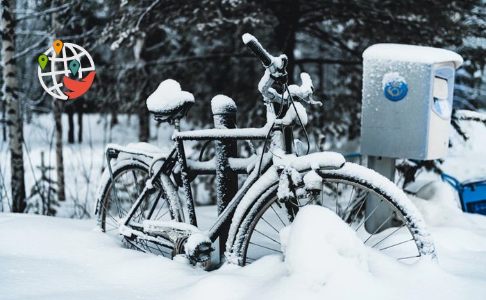 Канадцы могут покататься по льду на велосипедах