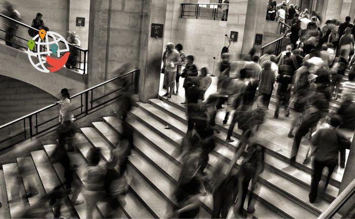 В Канаде отмечен рекордно низкий прирост населения