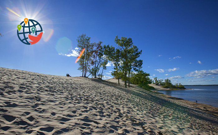 Пляжи Канады