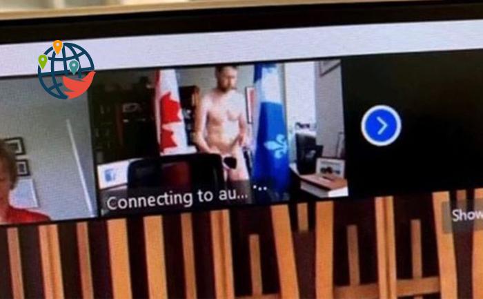 Канадский депутат появился на онлайн-собрании в непристойном виде