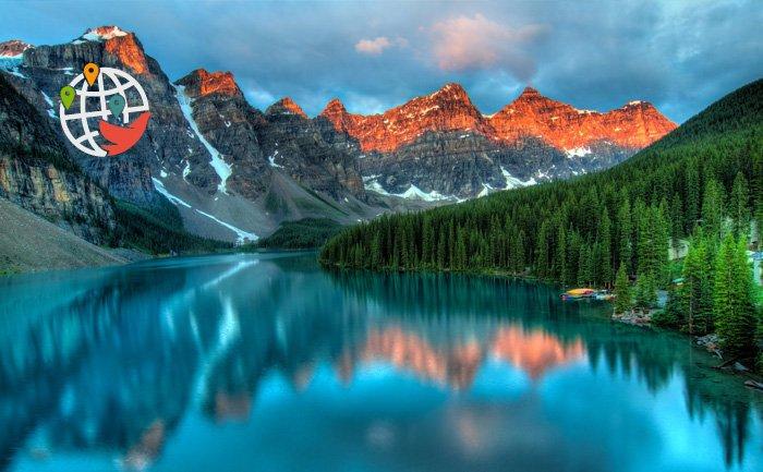 Два национальных парка Канады попали в топ самых спокойных мест на Земле