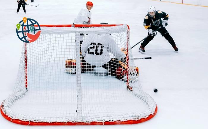Канадцы бурно отметили выход сборной по хоккею в финал Кубка Стэнли