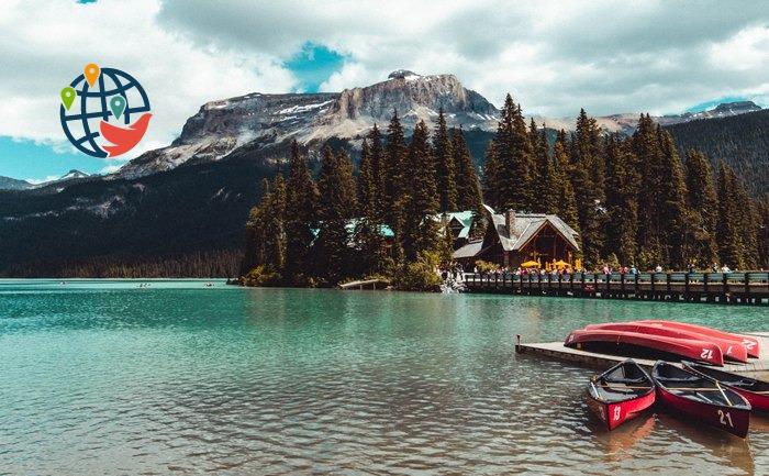 Канада озеро