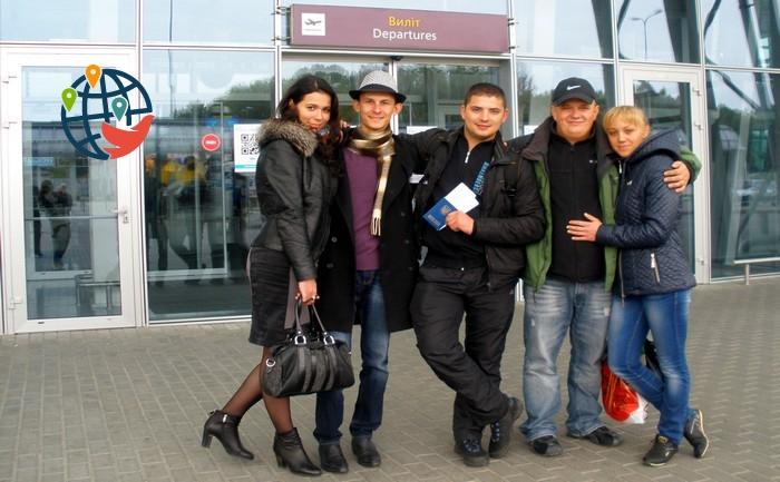 Артем Луков в аэропорту Борисполь