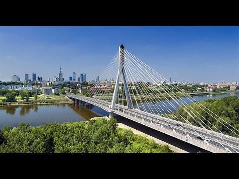 Варшавские дороги, обзор Варшавы, мысли вслух, НОВЫЕ дороги, РАЙ для автомобилистов!