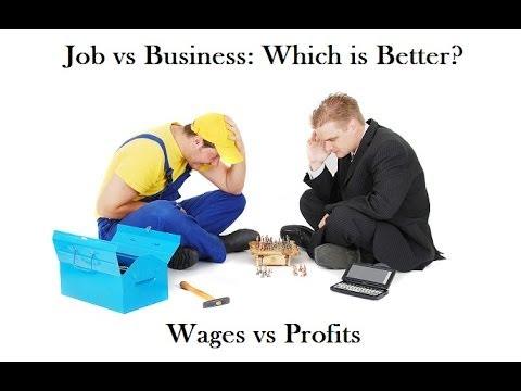Открыть бизнес или искать работу?