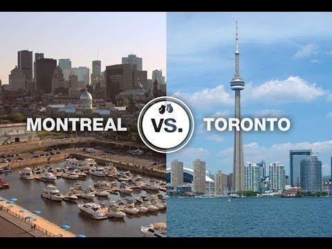 Сравнение городов для жизни: Монреаль и Торонто