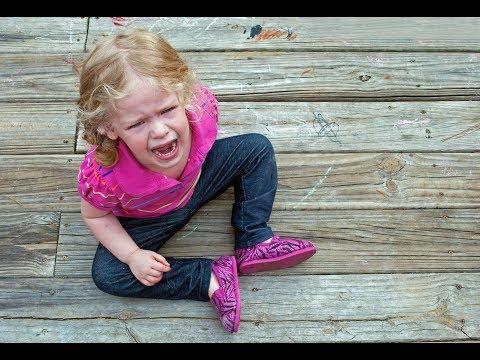 Воспитание детей в Америке: истерика ребенка в общественном месте. Что делать?