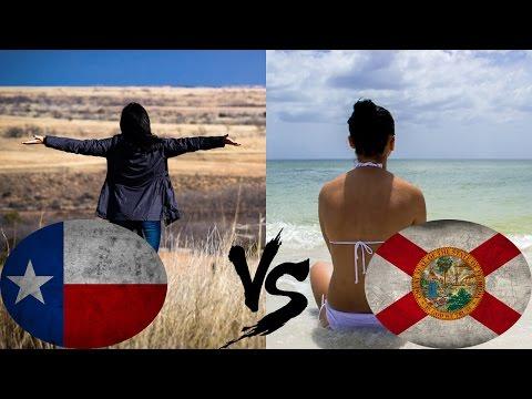 TX vs FL. Почему мы переехали из Техаса обратно во Флориду
