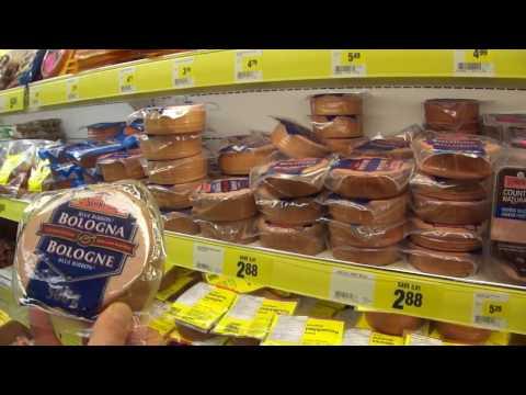 Цены на продукты. Январь 2017. Иммиграция Канада