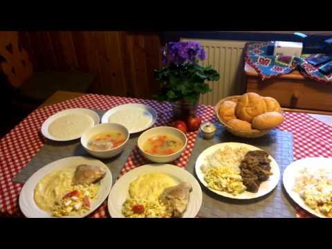 Обед бомжа на $5. Польша. Как едят украинцы в Польше!