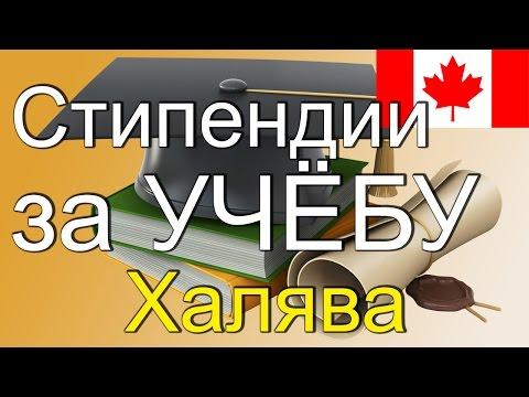 Халява в Канаде №2. Стипендии за учебу.