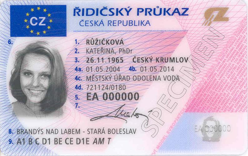 Перерегистрация авто и водительских прав в Чехии