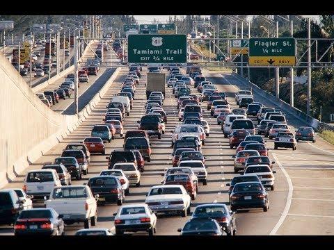 Дороги США, пробки и как с ними борются