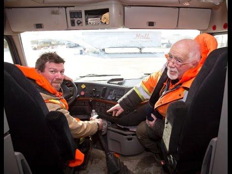 Схема получения рабочей визы Канады для дальнобойщиков