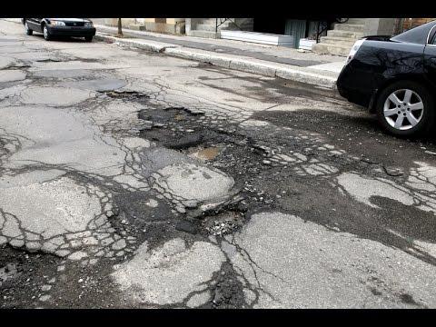 О качестве канадских дорог и мысли на эту тему